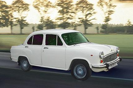 autovermietung ab delhi mieten sie das auto ambassador in indien. Black Bedroom Furniture Sets. Home Design Ideas
