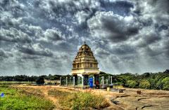 Bangalore: Shrine at Lalbagh Garden