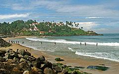 Trivandrum: Kovalam beach