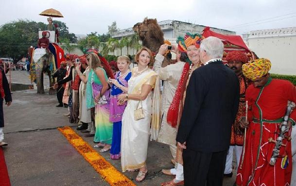 indische Hochzeit in Rajasthan, Hochzeit in Indien