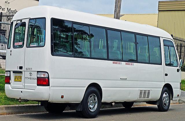 klein bus vermietung indien nepal mieten sie den 18 sitzer coaster von toyota in indien und. Black Bedroom Furniture Sets. Home Design Ideas