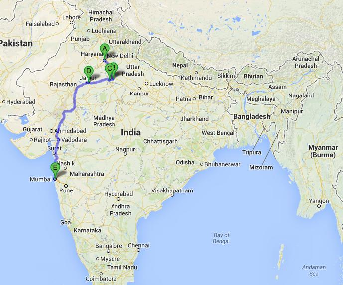 Golf Reise in Nord Indien (19 Tage)