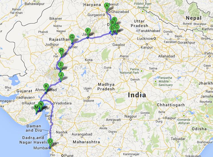 India Nepal Bhutan Tour